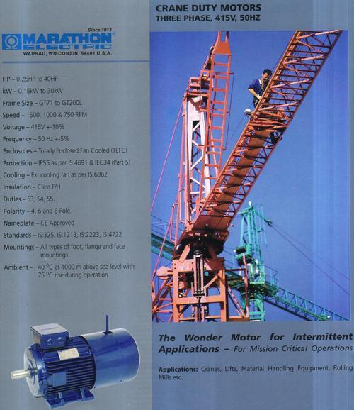 crane duty motors