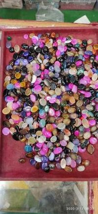 wholesale super polished mix colored onyx stone / multi color tumbled pebbles