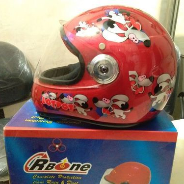 Leather Two Wheeler Helmets