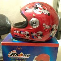 Leather Two Wheeler Helmets