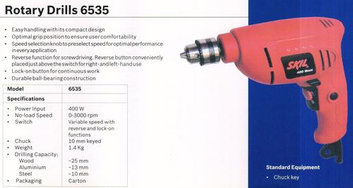 Rotary drill 6535