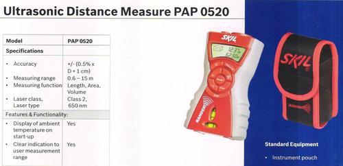 ultrasonic distance measure pap 0520