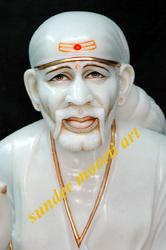Sai Baba Face statue