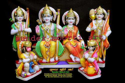 Lord Rama Darbar Statue