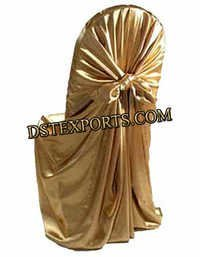 Designer Golden Chair Covers