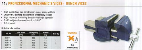 professional mechanic's vices - bench vices