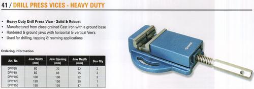 drill press vices - heavy duty