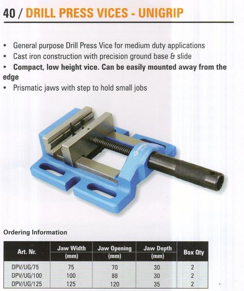 drill press vices - unigrip
