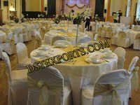 Banquet Hall Chair Cover With Tishu Sashas