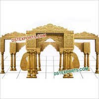 Royal Wedding Gold Mandap