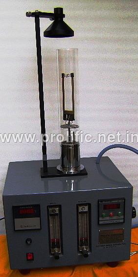Oxygen Index Apparatus