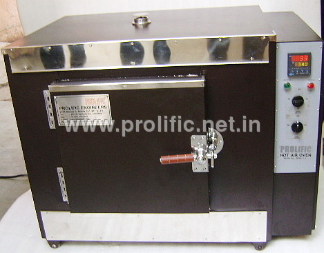 Hot Air Oven - high temperature