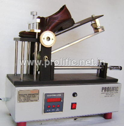 Logitudinal Rigidity Tester for footwear