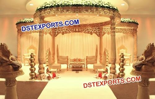 Wedding Dynamic Wooden Mandap