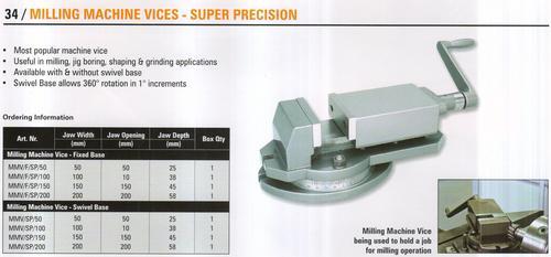 milling machine vices-super precision