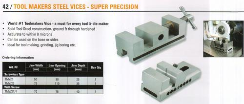 tool makers steel vices - super precision