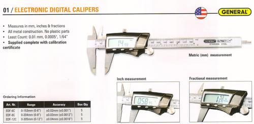 electronic digital calipers