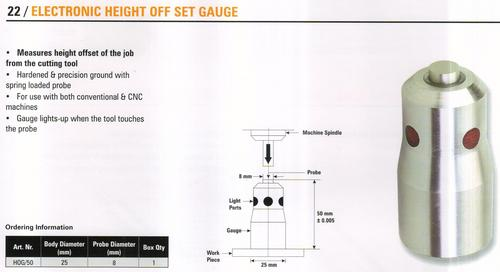 electronic height off set gauge