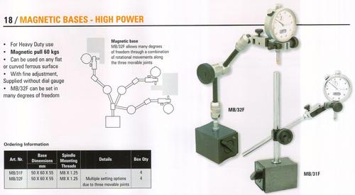 magnetic bases - high power