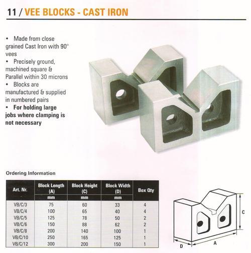 vee blocks-cast iron