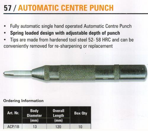 automatic centre punch