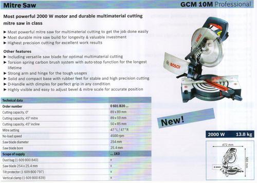 MITRE SAW ( GCM 10M Professional)