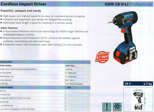 GDR 18V-LI Professional