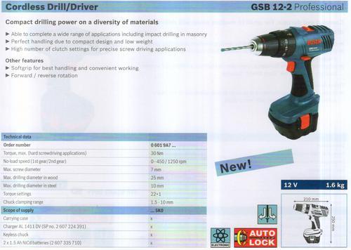 GSB 12-2 Professional