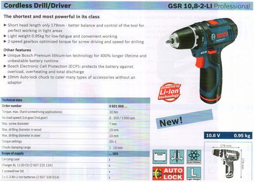 GSR 10, 8-2-LI Professional