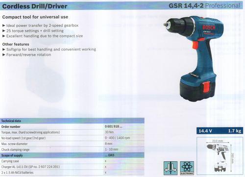 GSR 14,4-2 Professional