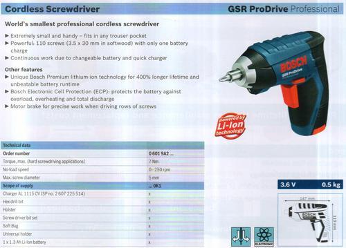 GSR ProDrive Professional