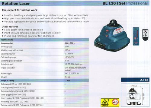 BL 130 I SET Professional