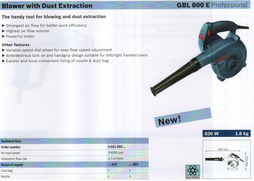 BLOWER WITH DUST EXTRACTION ( GBL 800 E Professional)