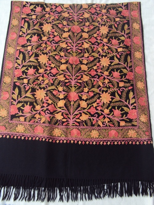 Embroidered Shawls & Stoles