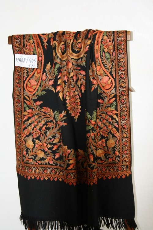Pashmina embroidery shawls