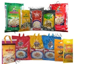 Rice Packing Bags