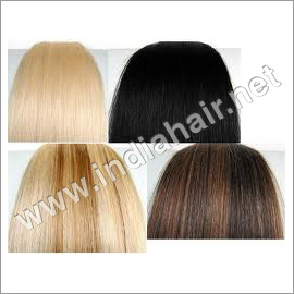 Colored Human Hair