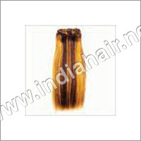 INDIAN COLORED HUMAN HAIR