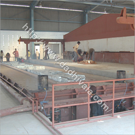 High Mast Pole Galvanizing Plant