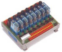 Fused Single / Double Relay Module - 8 Channel - 1CO O