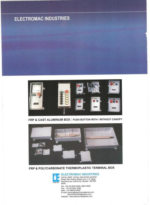 electrical junction boxes