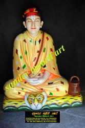 Marble Baba Dayal Statue