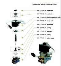 RELAY SOLENOID VALVE FOR TOYOTA