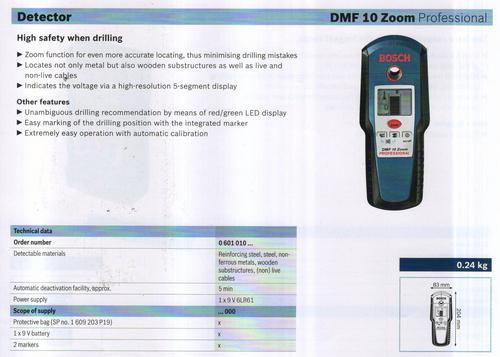 DMF 10 ZOOM professional