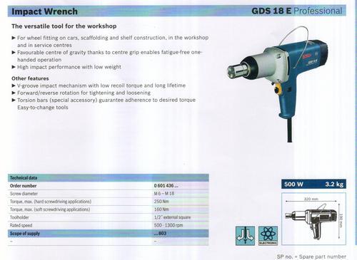 GDS 18 E professional