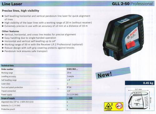GLL 2-50 Professional