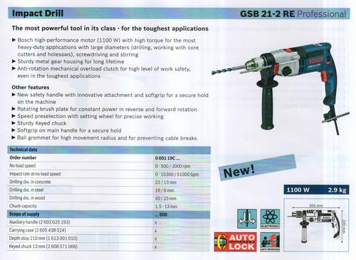GSB 21-2 RE Professional