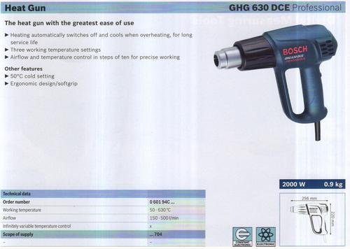 HEAT GUN ( GHG 630 DCE Professional)