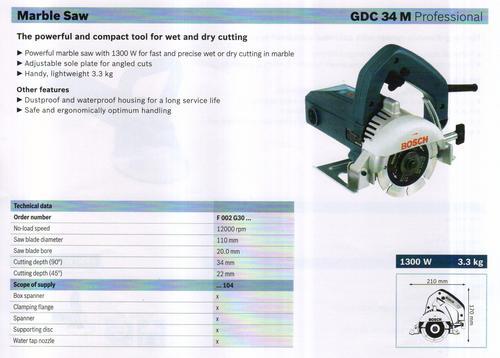 GCD 34 M professional