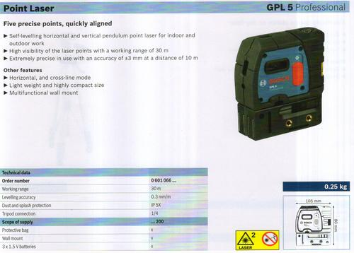 POINT LASER ( GPL 5 Professional)
